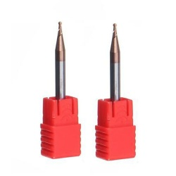 2 Flute ball nose end mill